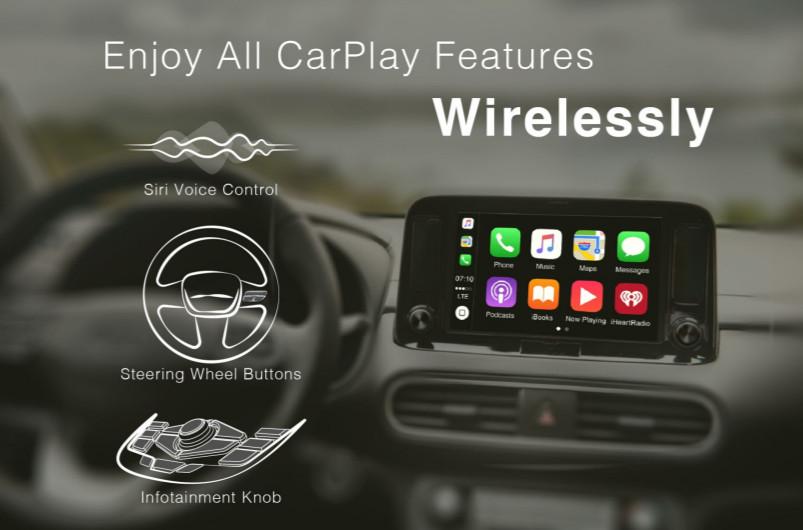 TAKUMI CarPlay 無線升級裝置